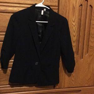 Frenchi black blazer size medium